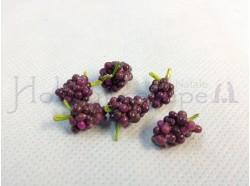Grappolo d\'uva- altezza mm. 18