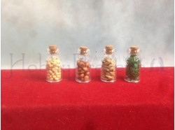 Barattoli in vetro con semi