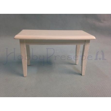 in legno laccato bianco - Casa Bambole