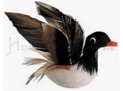 Anatra in volo - lunghezza cm 5