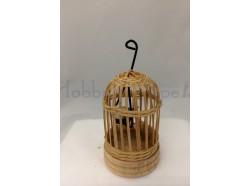 Gabbia  con uccellino - cm 5