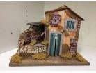 Casa  con mulino - 33 x 18 e h 25