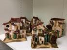 Casa in legno e cartone - 20 x 15 e h  cm. 20