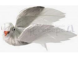 Piccione in volo  - lunghezza cm. 4