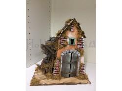 Casetta in legno e cartone - 28 x 15  h 30