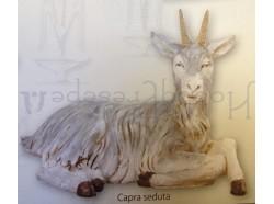 Capra seduta - Fontanini 125 CM