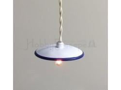 Lampadario a piatto - diametro mm. 37