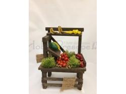 Bancarella  verdure in terracotta - cm 12 Melù