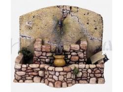 Fontana con acqua in movimento - Presepi Pigini