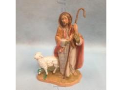Pastore con pecora - Fontanini cm 12