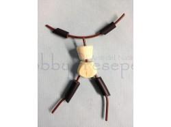 Elemento per autocostruzione figure - n. 1 MANICHINO - Heide 30 CM
