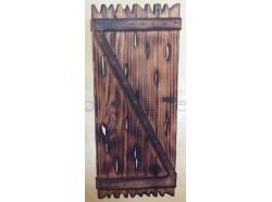 Porta in legno - Presepi Pigini  per statue cm. 15