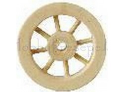 Ruota in legno - diametro cm 2,5