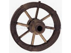 Ruota in legno - diametro cm 3,5
