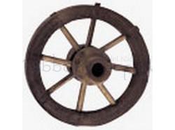 Ruota in legno - diametro cm 4