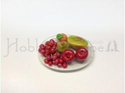 Piatto ovale con frutta