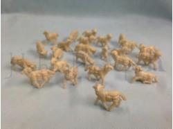 Pecore brunate assortite 48 pz