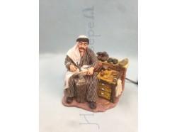 Ciabattino stile  arabo - Presepi Pigini cm 25