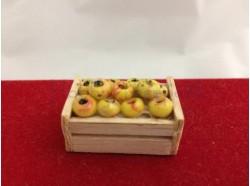 Cassetta con frutta cm. 3,5 x 2,2 x 2