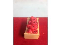 Cassetta di mele - dimensioni: cm 3,2 x 2 x 1,5