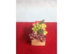 Cassetta di uva - dimensioni: cm 3,2 x 2 x 1,5