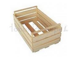Cassetta in legno - dimensioni: cm 12x8x6 h