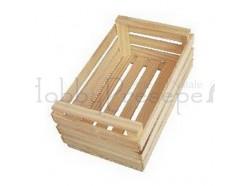 Cassetta in legno - dimensioni: cm 5x3,5x2,5 h