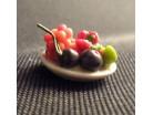 Piattino con frutta