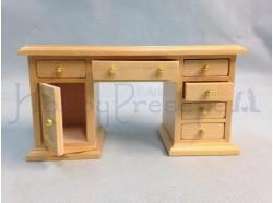 Scrivania in legno. Scala 1:12 Casa Bambole