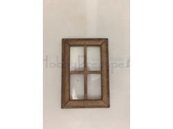 Finestra con vetro - cm 3,1 x 4,9