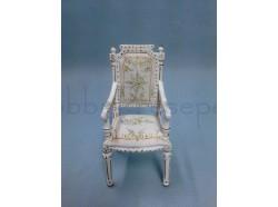Sedia in legno decorato -  Casa Bambole