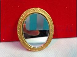 Specchio ovale - dim. cm5x4