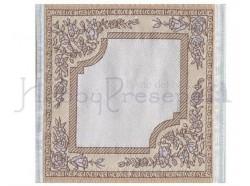 Tappeto in tessuto ricamato - cm 10x10,5