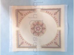 Tappeto in tessuto ricamato - cm 15x18,5