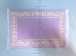 Tappeto in tessuto ricamato - cm 15x23,5