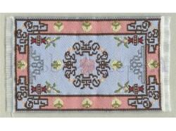 Tappeto in tessuto ricamato - cm 5x9