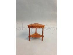 Tavolino d\'angolo per ingresso in legno