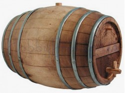 Botte in legno - altezza cm 11- Presepi Pigini