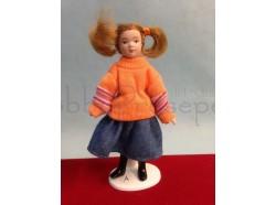 Bambola - Bambina di famiglia moderna