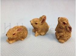 Conigli -  altezza cm 2