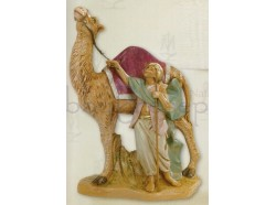 Cammello con cammelliere - Fontanini 19 CM