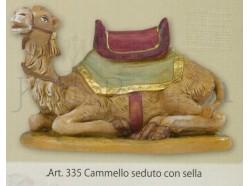 Cammello seduto -  Fontanini 19 CM