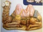 Cammello seduto - Fontanini 125 CM