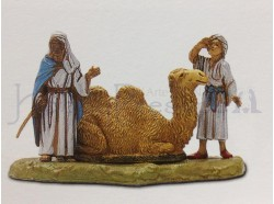 Cammello seduto con cammellieri - Landi 6 CM