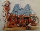 Cammello seduto - Fontanini 65 CM