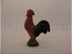 Gallo in terracotta  - Melù - 12 cm
