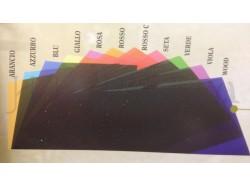 Gelatina colorata - colore ROSSO CHIARO - cm 30x30