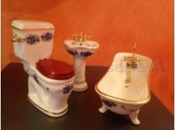 Bagno in porcellana - Casa Bambole