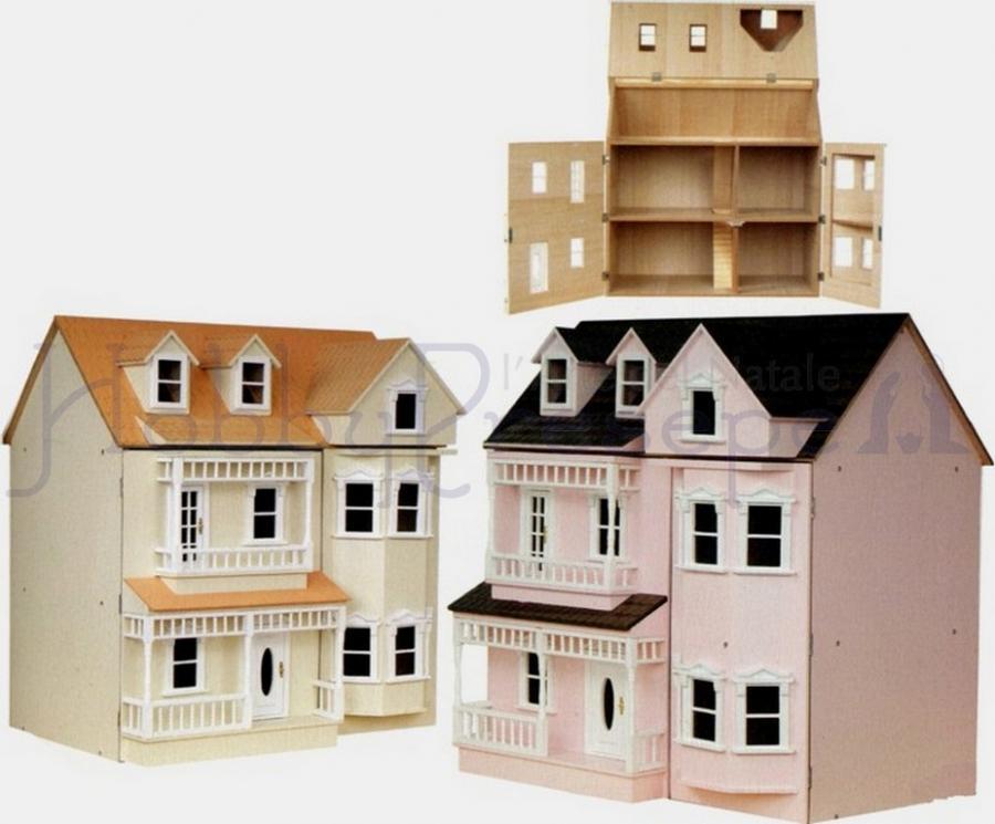 1:12 Scala Casa delle Bambole Carta da parati Francesca AVORIO SU VERDE WP15