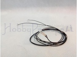 Microlampada con fili 12V o mm.3x8
